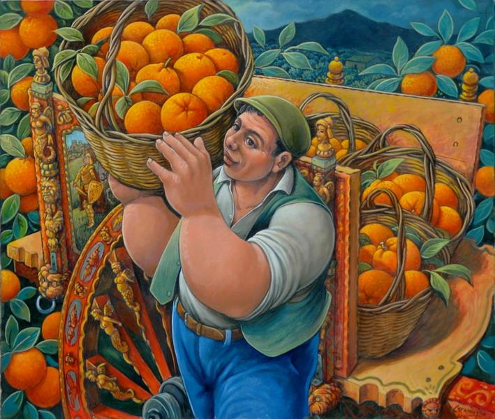 contadino-con-cesto-di-arance-e-carretto-cm-60x70_ridimensionare