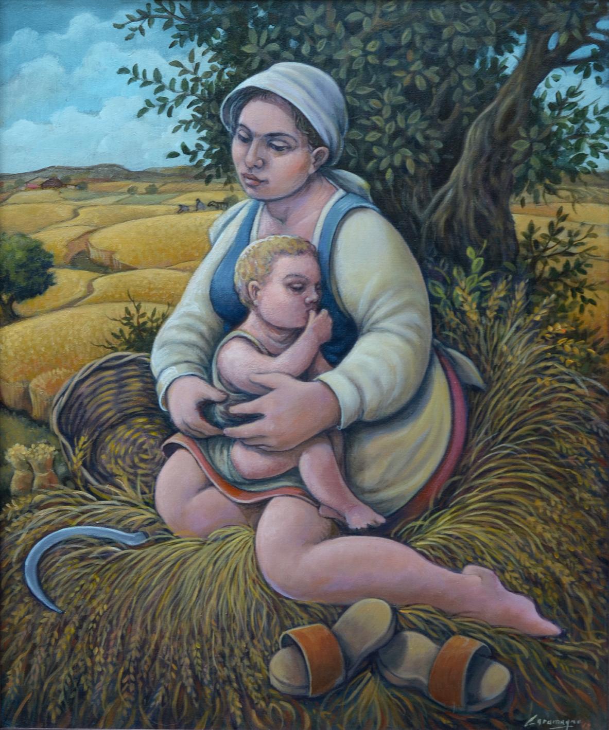 Maternità cm 50x60