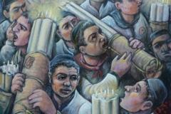 Devoti alla frsta di sant' Agata cm. 40x50