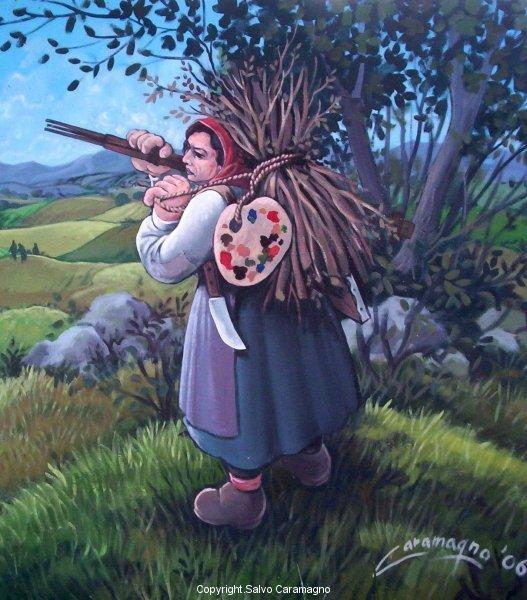 Azzinano - La pittrice contadina