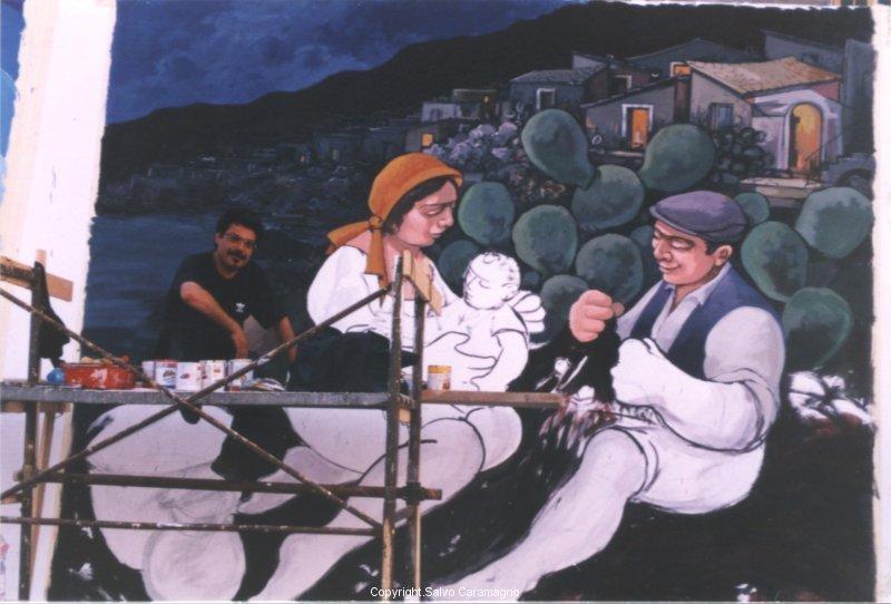 Crucoli-Famiglia di pescatori