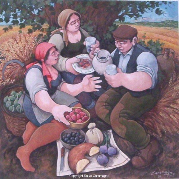 Montorio - Colazione contadina(particolare) -