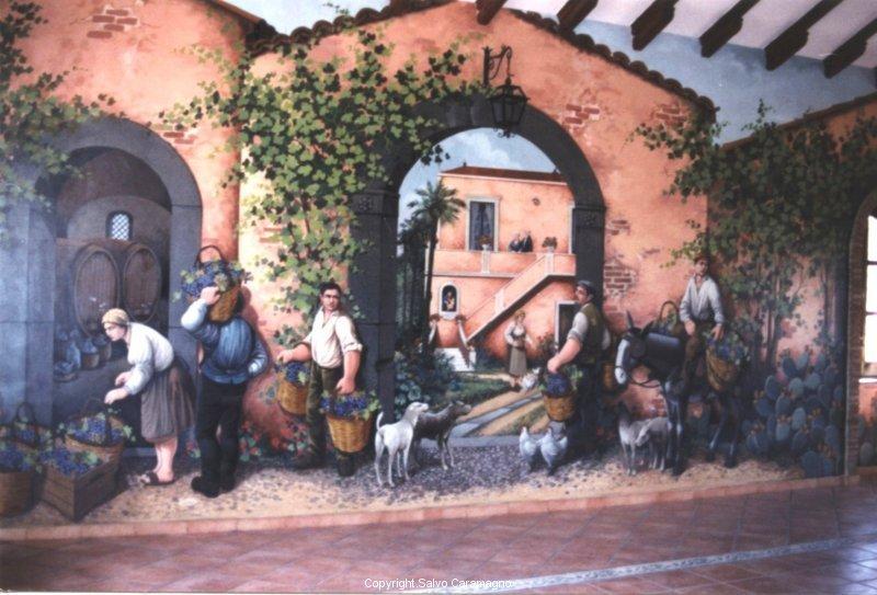 Tremestieri Etneo (CT) - Villa del sole- Vendemmia