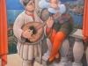 Pulcinella e Colombina cm 60 x 70